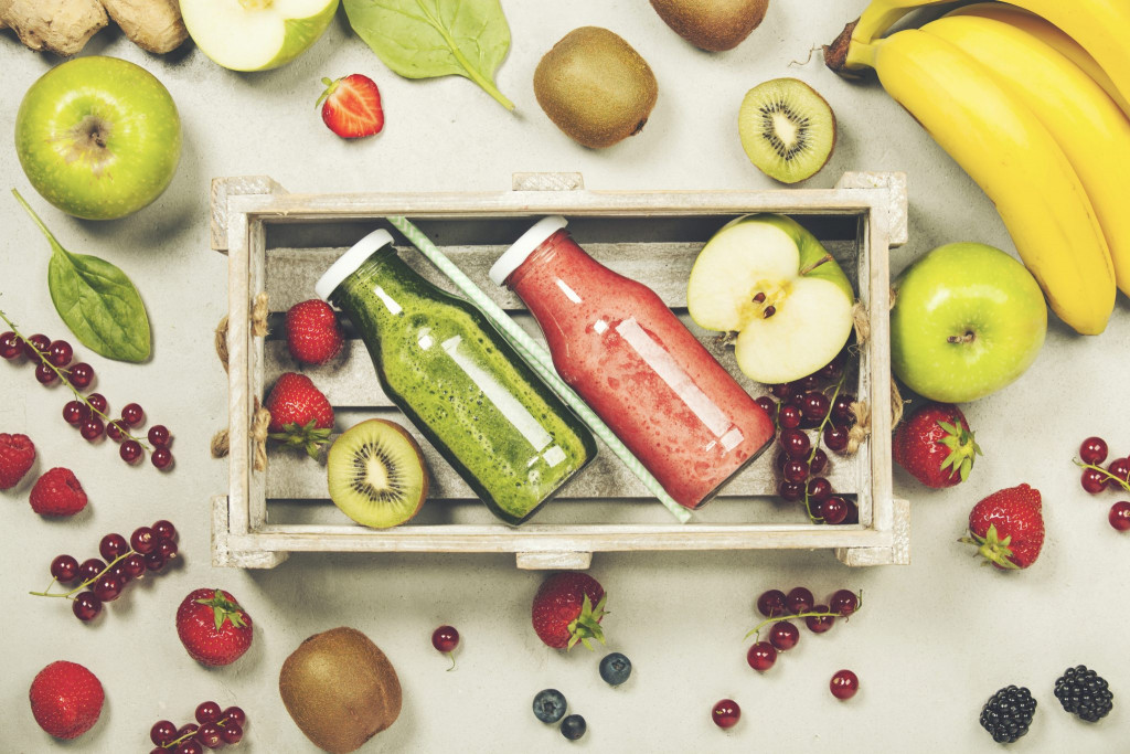 green-and-red-fresh-juices-or-smoothies