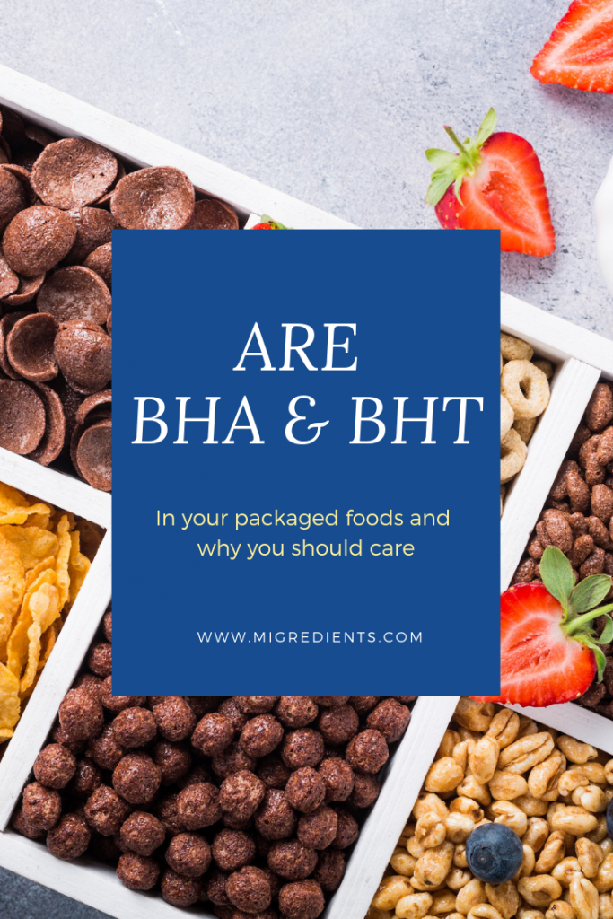 Are BHA and BHT in your food