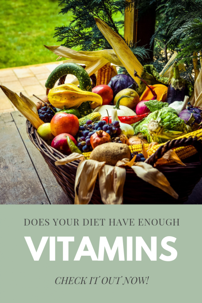 How many vitamins your body needs daily