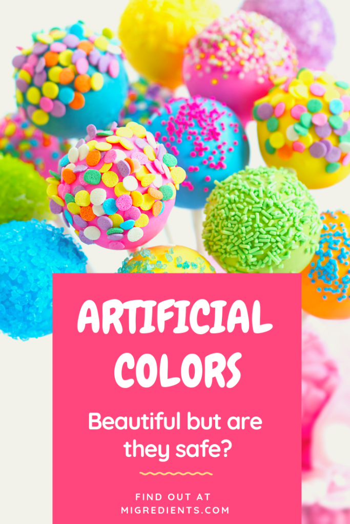 Why artificial colors are bad for you