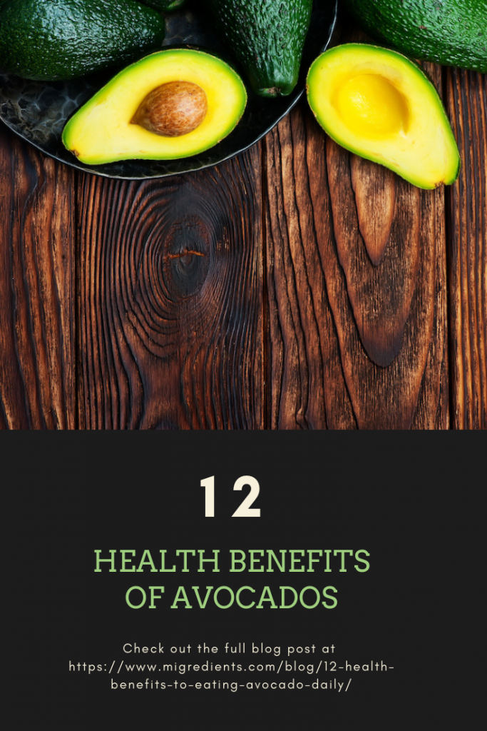 12 Health benefits from eating an avocado