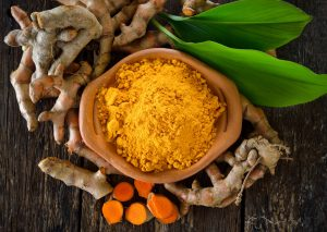 The herb Turmeric