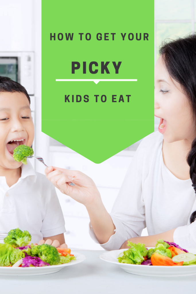 How to get your picky kids to eat